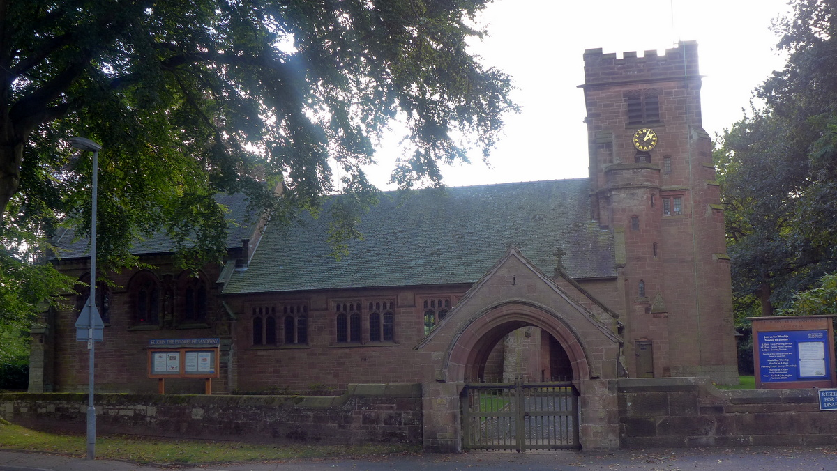 St John the Evangelist's Church, Sandiway