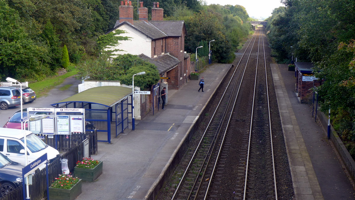 Cuddington Station
