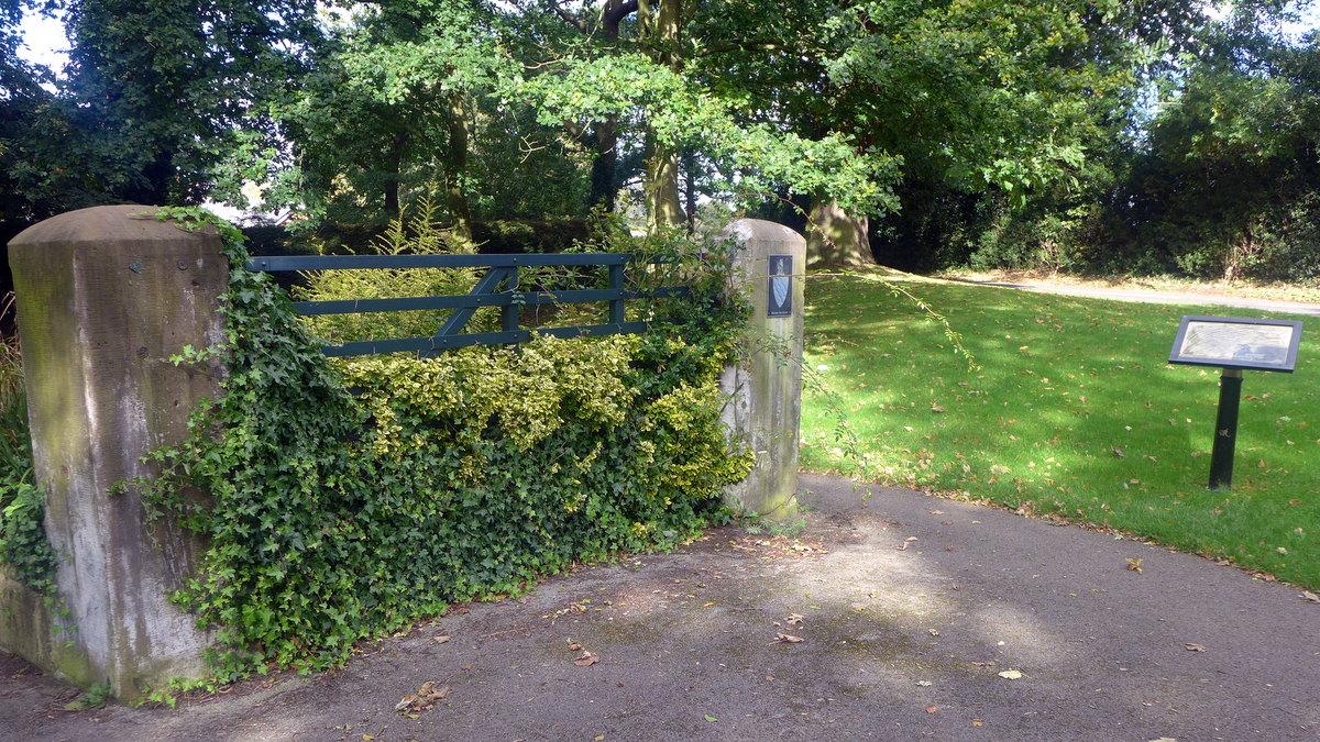 Delamere Park 'Gate'