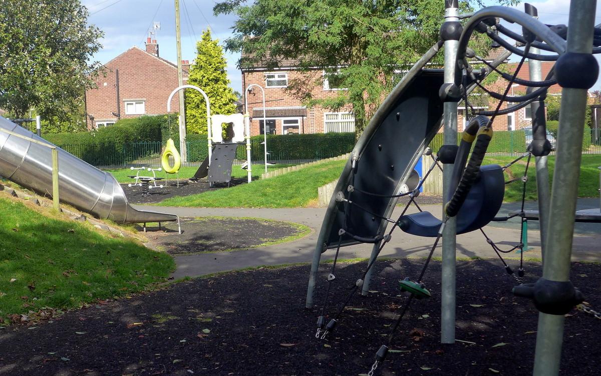 Boundary Lane Green - Jubilee Play Area