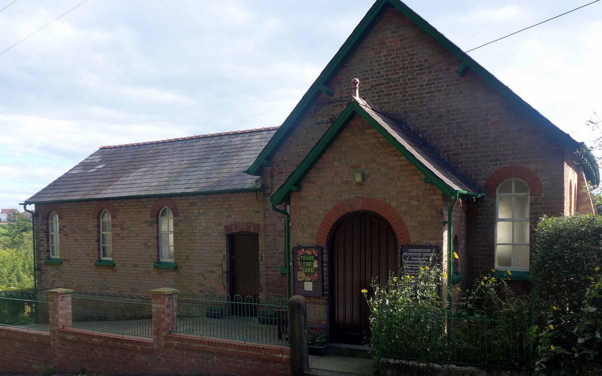 Cuddington Methodist Church (no longer for worship)