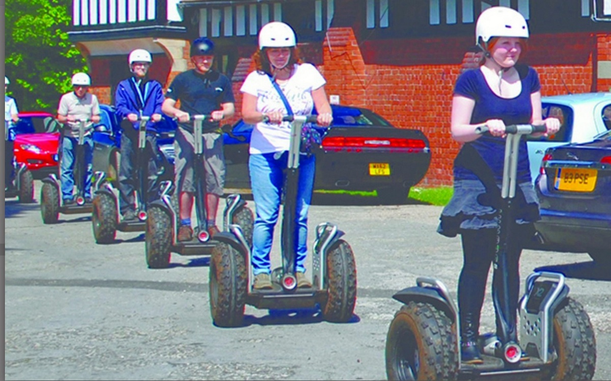 Segways in Blakemere Village