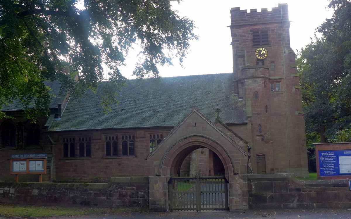 St John the Evangelist Church, Sandiway